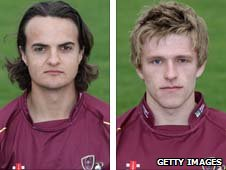 Jack Brooks and David Willey