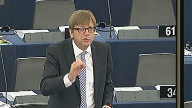 Guy Verhofstadt attacks UK government