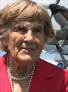 Spitfire pilot Joy Lofthouse