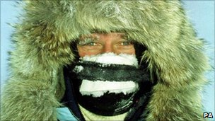 David Hempleman-Adams on North Pole expedition in 1999
