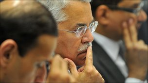 Saudi Minister of Petroleum and Mineral Resources Ali Ibrahim Al-Naimi 