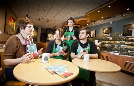 Staff Starbucks