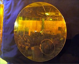 Golden record replica