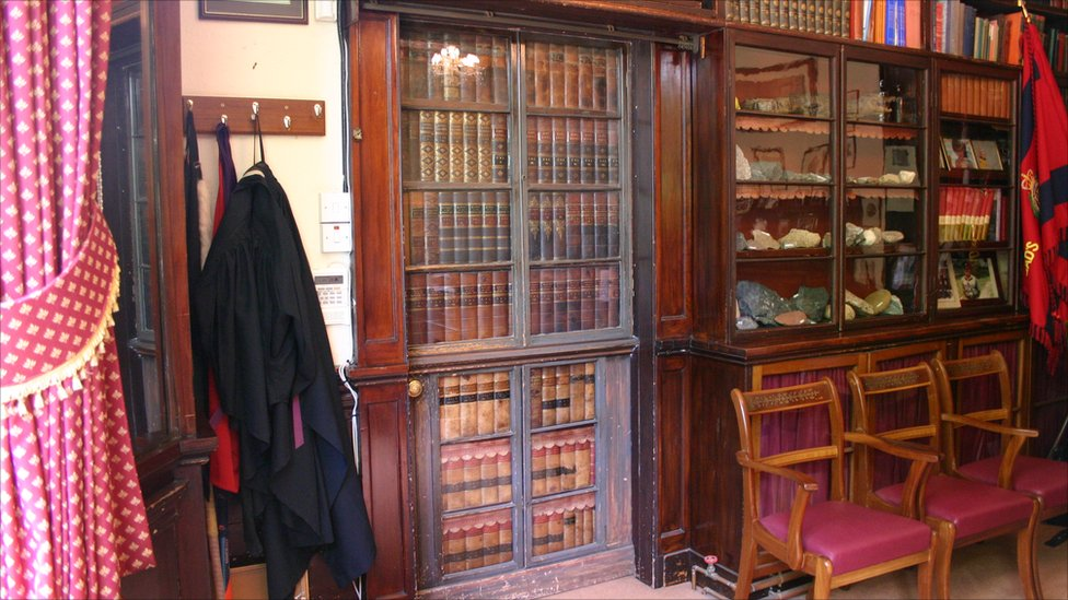 Bbc News In Pictures Charles Dickens Home Gad S Hill