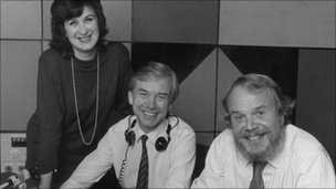 Jenni Murray, John Humphrys and Brian Redhead