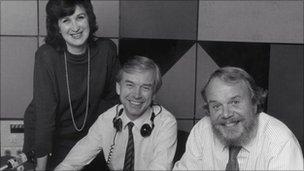 Jenni Murray, John Humphrys and Brian Redhead