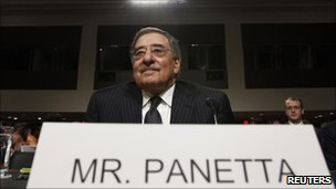 Leon Panetta at a Senate committee hearing in Washington. Photo: 9 June 2011