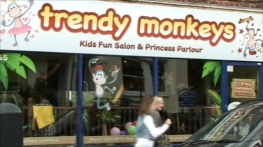 Trendy Monkeys salon
