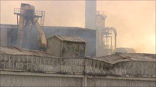 Sonae factory fire