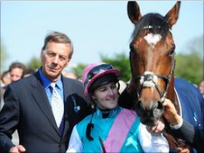 Henry Cecil, Tom Queally and Frankel