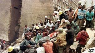 Bombing in Nairobi 1998