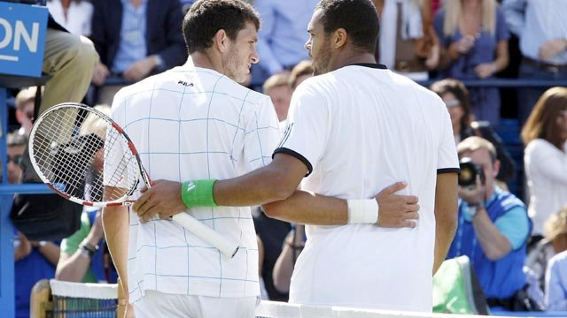 James Ward and Jo-Wilfried Tsonga