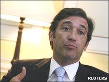 Portuguese Prime Minister-elect Pedro Passos Coelho