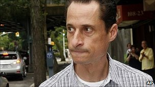 Anthony Weiner in New York. 11 June 2011