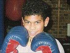 David Haye as a youngster