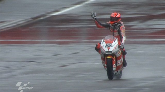 Germany's Stefan Bradl wins Moto 2