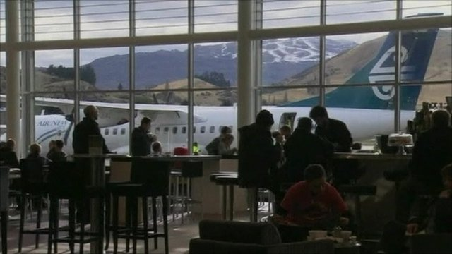Flights in New Zealand grounded