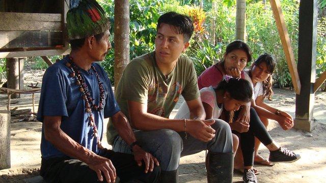 A local Shaman in Ecuador