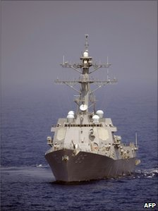 US destroyer McCampbell, file pic