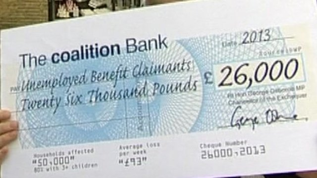 Cheque graphic