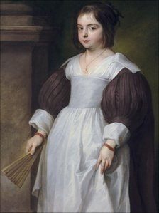 Portrait of a Young Girl, by Sir Anthony van Dyck