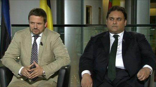 Claude Moraes MEP and Rafal Trzaskowski MEP