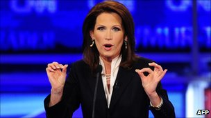 Michele Bachmann in Manchester, New Hampshire 13 June 2011