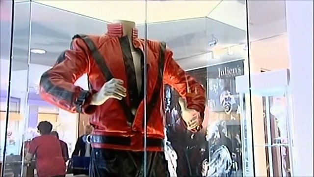 Michael's Jackon's 'Thriller' jacket
