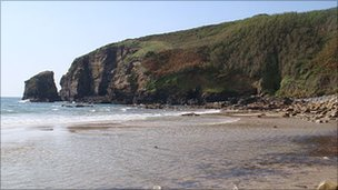 Praa Sands in west Cornwall Pic: Stephen Folmer