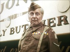 Clive Dunn as Dad's Army's Cpl Jones