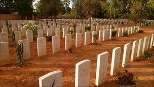 Commonwealth War Cemetery in Benghazi
