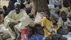 People who have fled from South Kordofan (UN photo)
