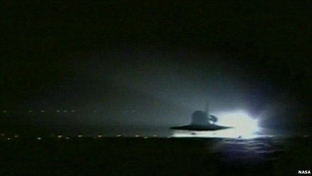 Almost two and a half years after the Columbia disaster, Discovery relaunched Nasa's shuttle programme with a mission to the International Space Station.
