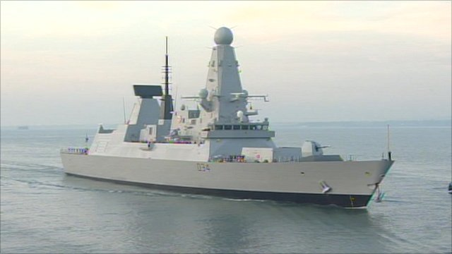 Royal Navy warship