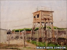 Terry Frost's Study for Stalag 383 (courtesy Beaux Arts London and the artist's estate)