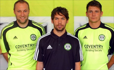 Charlie Griffin, Jared Hodgkiss and James Norwood