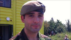 Corporal Mark Dane