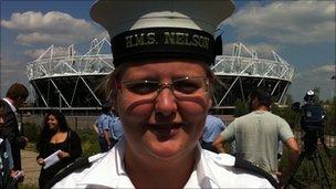 Rhien Hanson, Royal Navy