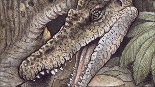 Baryonyx reconstruction