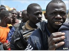 African migrants in Misrata, Libya