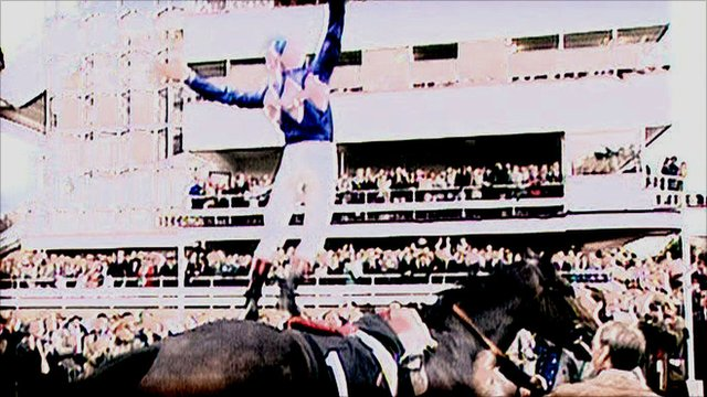 Frankie Dettori celebrates his seven wins at Ascot