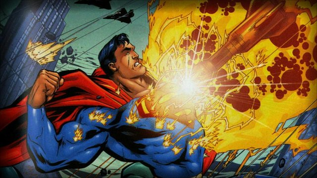 "Superman features in ""Scotland's Amazing Comic Book Heroes"""