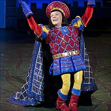 Nigel Harman in Shrek the Musical