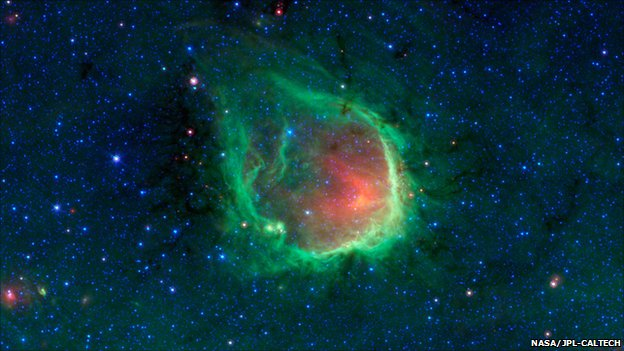 ring nebula photographed
