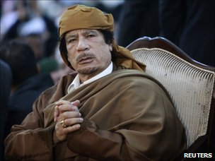 Muammar Gaddafi (13 February 2011)