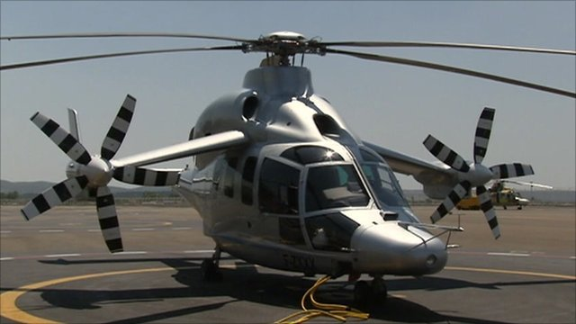Elicottero Wings : Eurocopter debuts rotorcraft bbc news