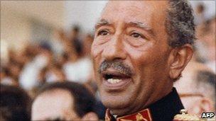 Anwar Sadat 1981