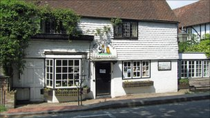 Bbc News Winnie The Pooh Corner Shop In East Sussex Up