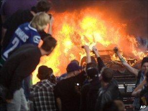 Vancouver riot, AP