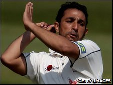 Kent all-rounder Azhar Mahmood